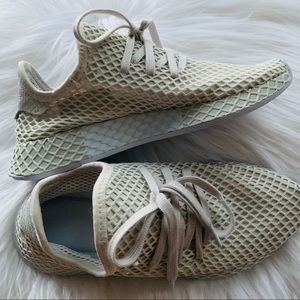 Adidas Deerupt Runners - Grey/Blue